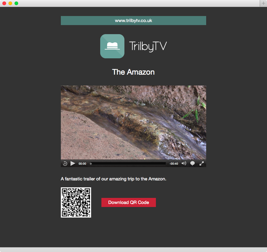 Great New Public Sharing Features TrilbyTV