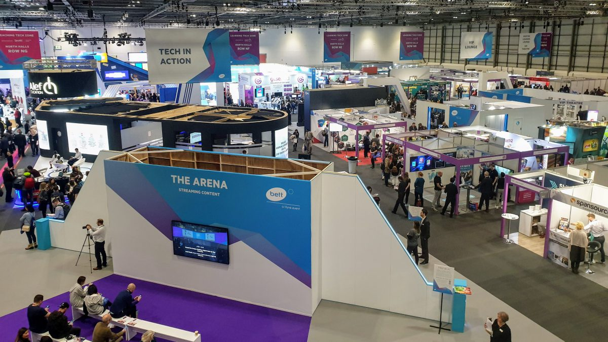 The Bett Education Show - Why I Love It So Much! TrilbyTV