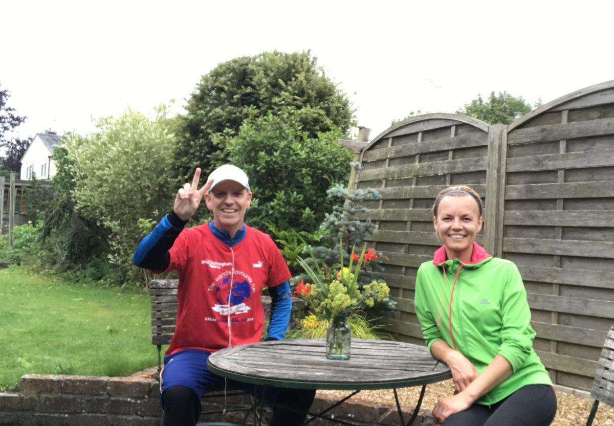 Neil Emery's 1250K Challenge for Charity! TrilbyTV