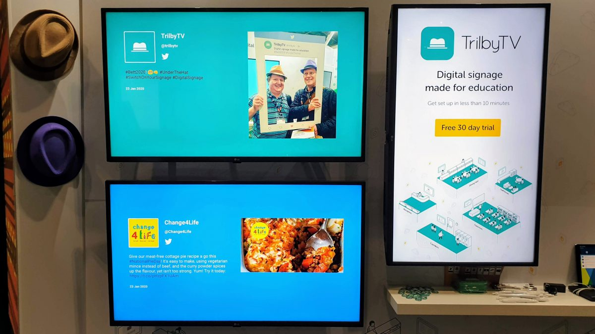 Unlimited Digital Signage Screens - Why, What, How! TrilbyTV