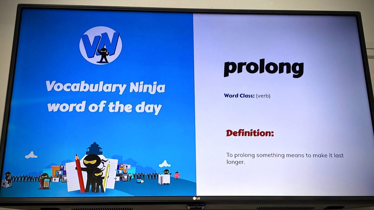 Education loving the Vocabulary Ninja Word of the Day via TrilbyTV! TrilbyTV
