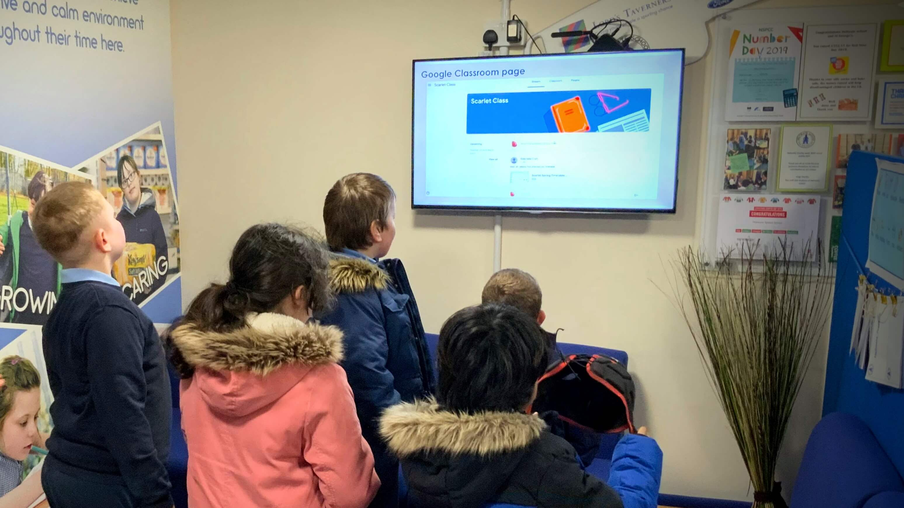 Heltwate School using TrilbyTV for remote learning TrilbyTV