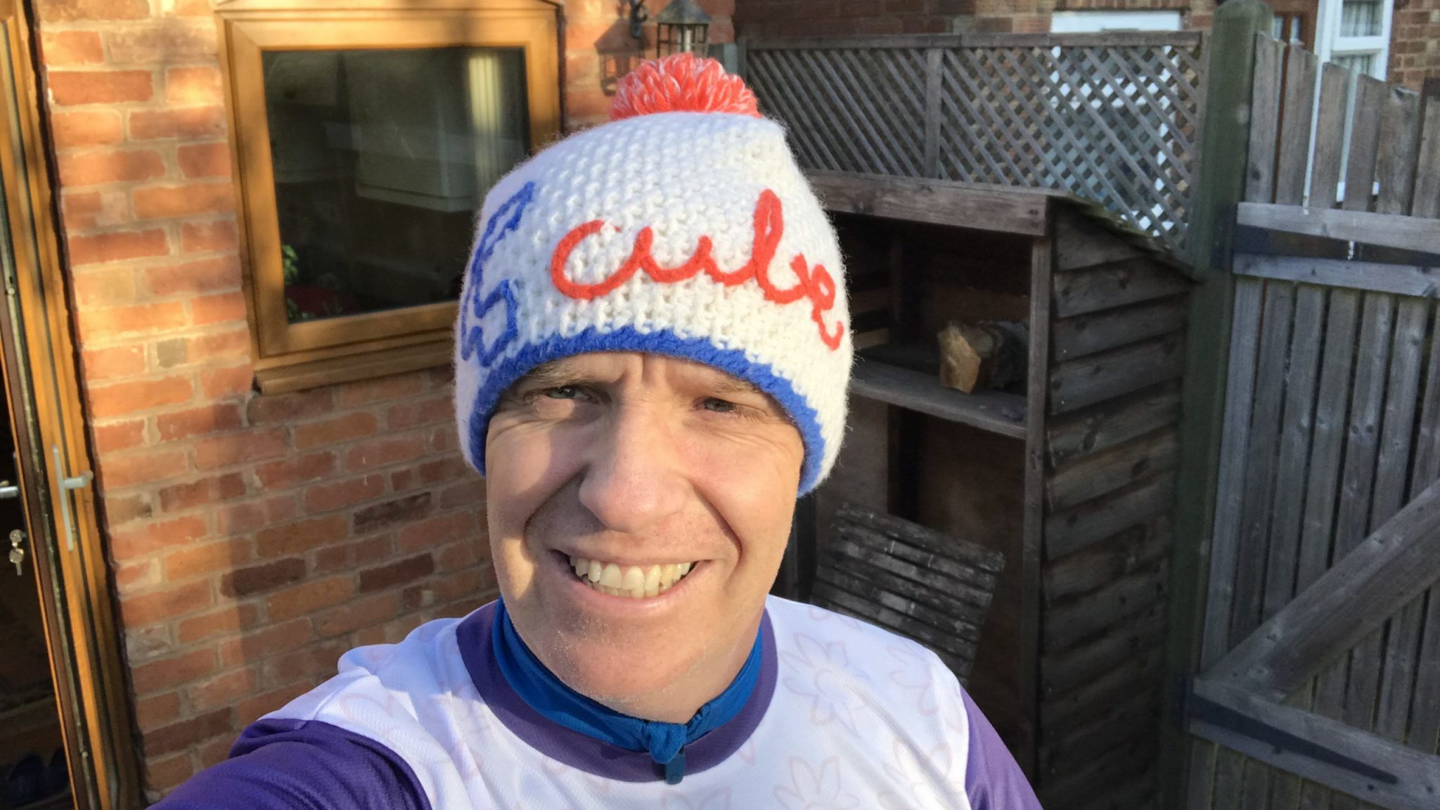 Neil Emery embarks on a new challenge, raising money for St Mary's Hospice TrilbyTV
